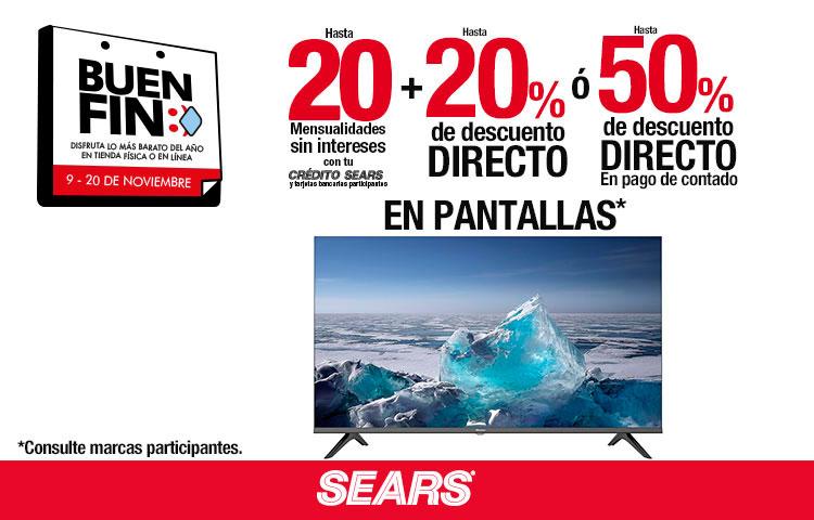 Pantallas Sears