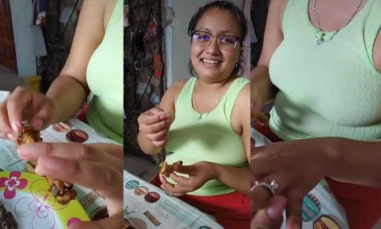 Viralize proposta di matrimonio con anello su coscia di pollo