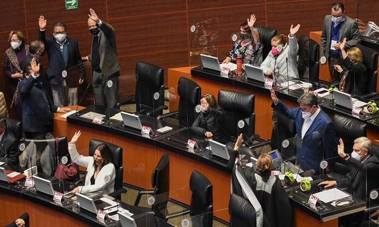 Aprueba Senado eliminación del fuero presidencial