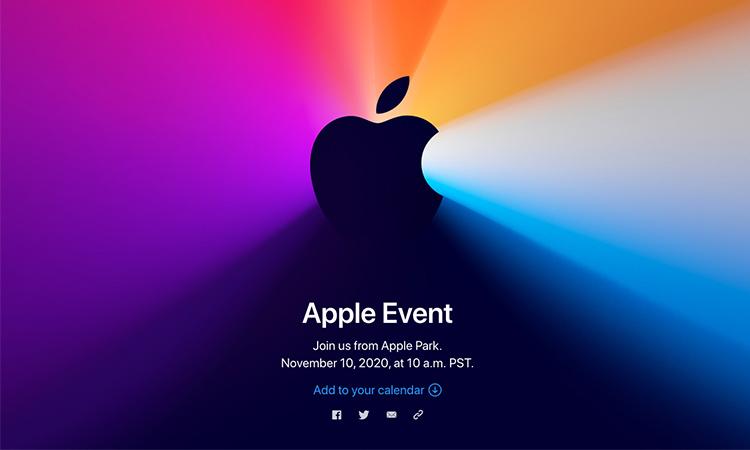 Apple nuevo evento