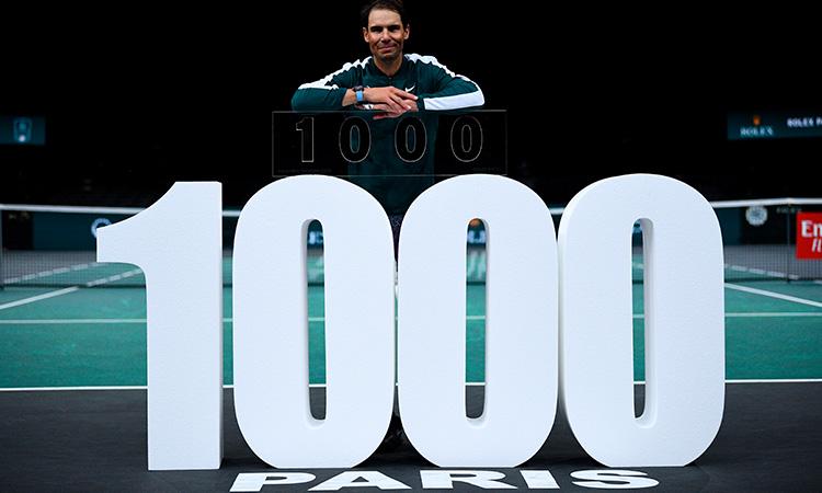 Rafael Nadal victoria 1000