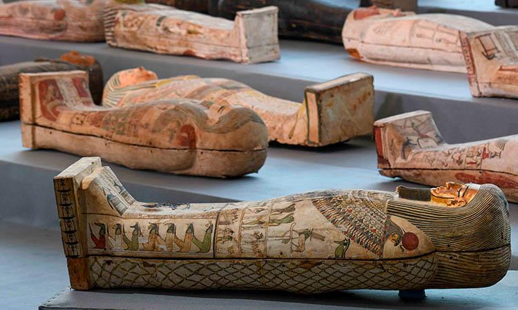 Sarcógafos Egipto