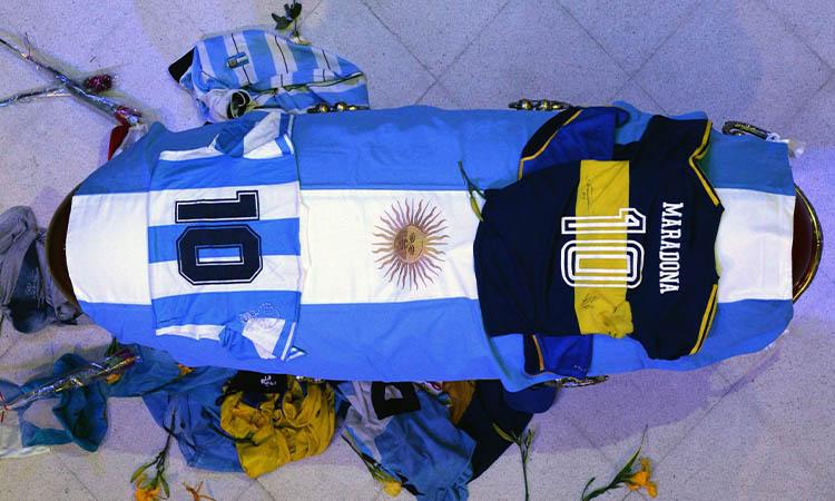 La muerte de Maradona