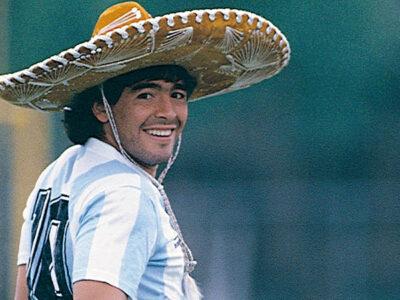 Diego Armando Maradona y México