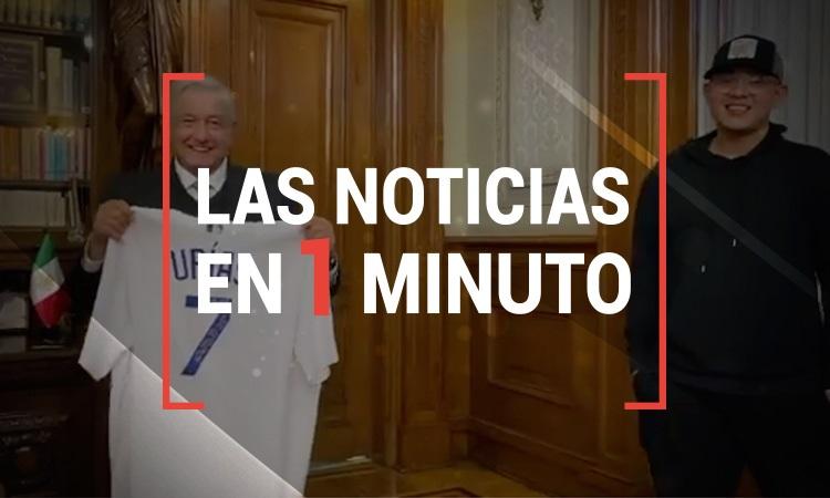 Las noticias en un minuto 14:00 horas. 20 de noviembre de 2020