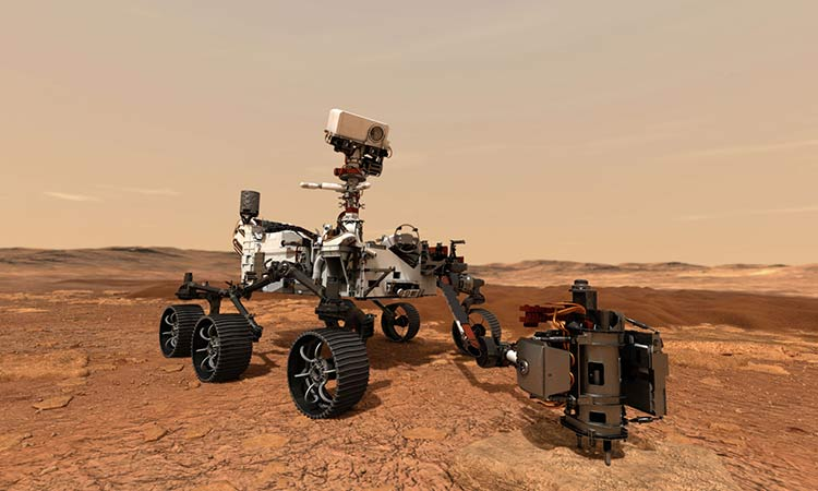"NASA publica audio de ""rover"""