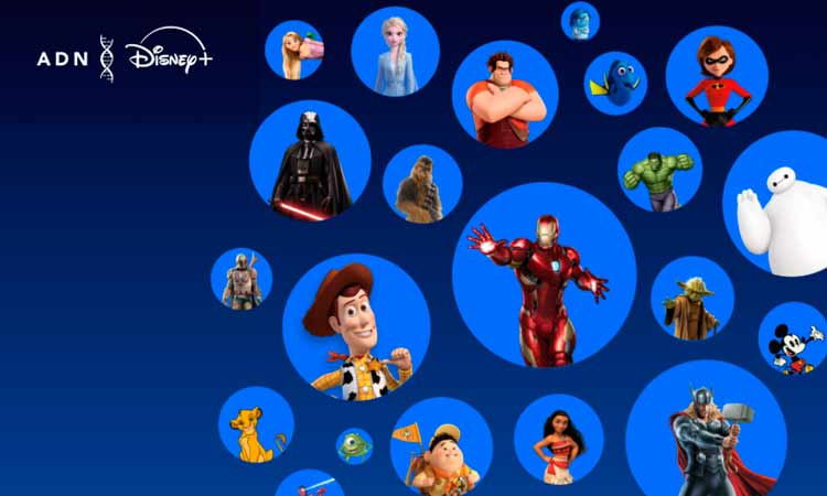 test adn Disney