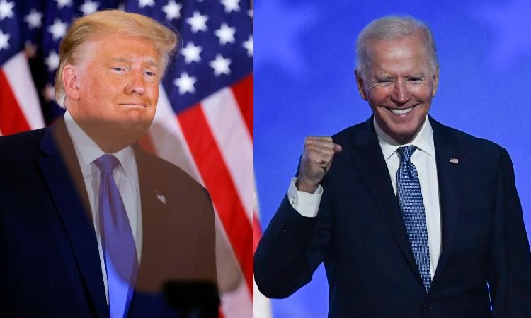 Trump Joe Biden