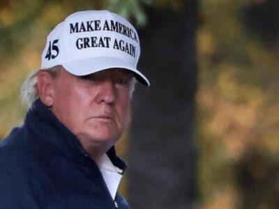 Donald Trump se enteró de su derrota con Biden mientras jugaba golf en Virginia