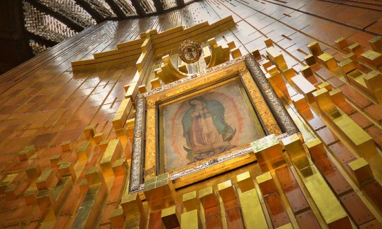 ¿Dónde está el manto original de la Virgen de Guadalupe?