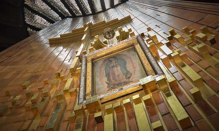 """""""Queridos hijos, quédense en su casa, Quédate en tu casa y permíteme que vaya hasta ti"""", dice el mensaje de la Virgen de Guadalupe."""