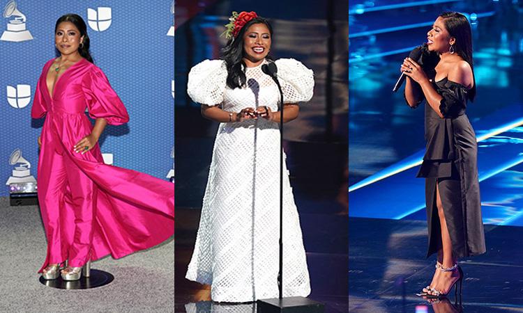 Yalitza Aparicio Latin Grammy 2020 Vestidos