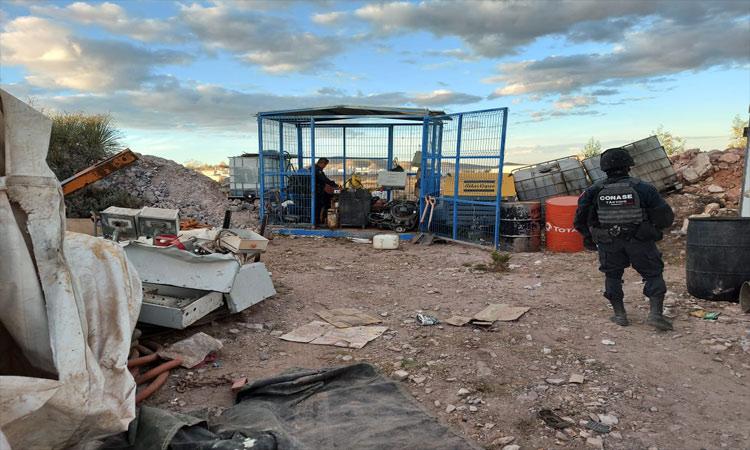 Zacatecas: Hallan campamento de entrenamiento criminal, así es