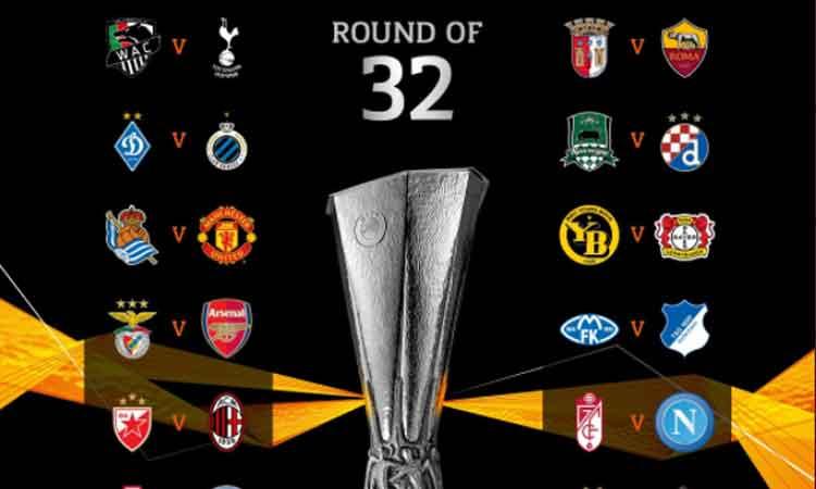 Así fue el sorteo de la Europa League