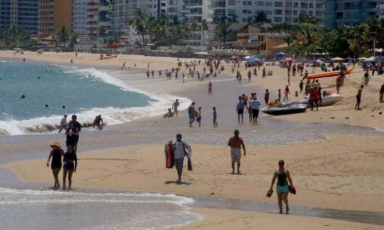 Acapulco, Zihuatanejo y Chilpancingo pasan a semáforo amarillo