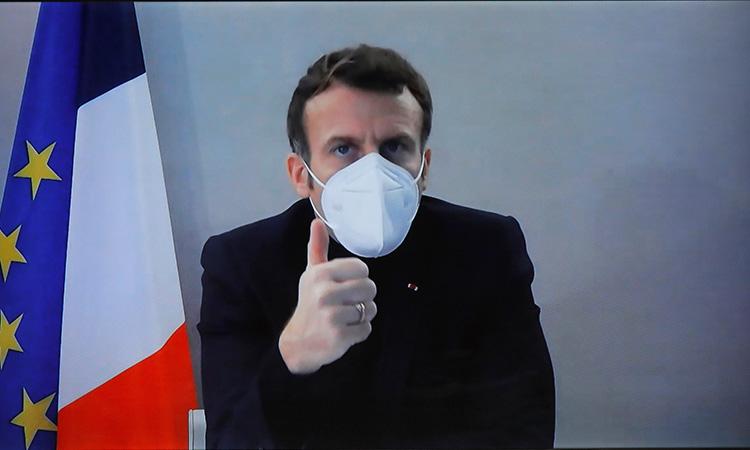 Emmanuel Macron es reportado como estable tras dar positivo a COVID
