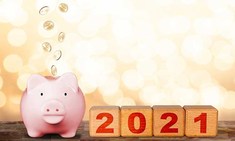 Cinco pasos para ahorrar y lograr tus objetivos de Año Nuevo 2021