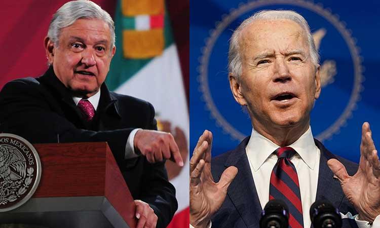 AMLO y Biden