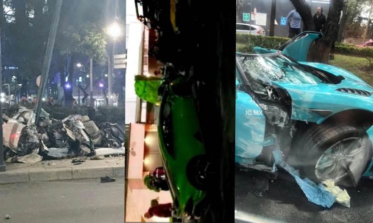 CDMX: Estos son los autos de lujo que han chocado en la capital mexicana
