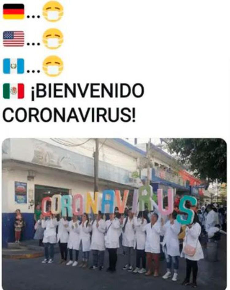 Bienvenido Coronavirus