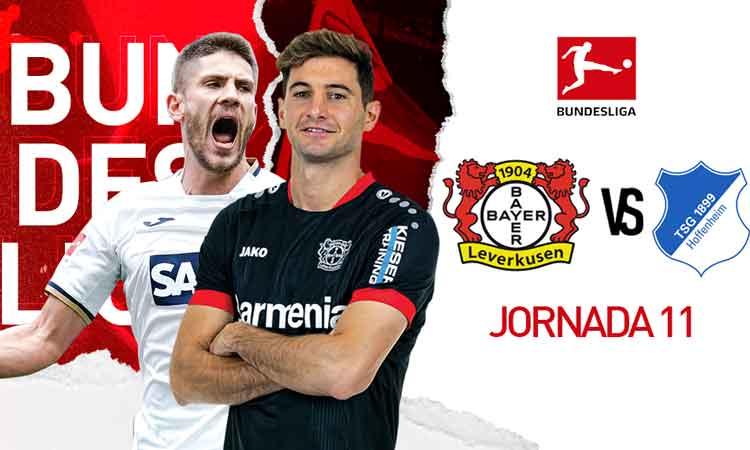 Sigue el partido de la Bundesliga en vivo entre Bayer Leverkusen y Hoffenheim.