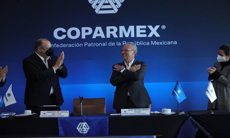 Coparmex elige a José Medina Mora como nuevo presidente