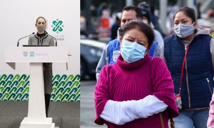 En CDMX, Sheinbaum se responsabiliza por las decisiones de la pandemia