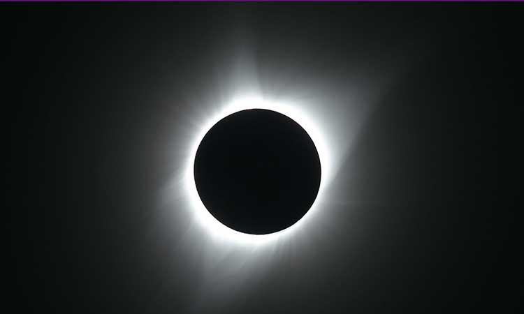 El eclipse solar total no se podrá ver en México.