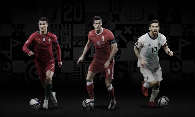 Messi, Cristiano Ronaldo y Lewandowski son los finalistas para el The Best