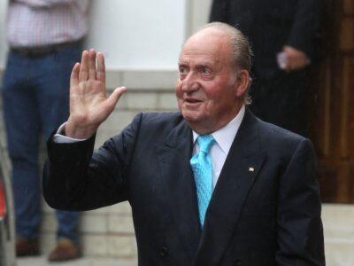 Exrey de España, Juan Carlos I, presenta su declaración de impuestos