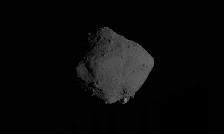 extraño objeto muestras asteroide