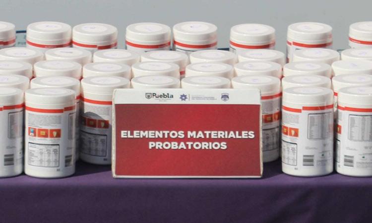 En Puebla hallan 42 kilos de fentanilo; valdría 352 millones de pesos