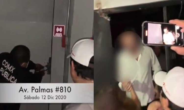 Pese a pandemia, en CDMX desalojan fiesta en bar clandestino
