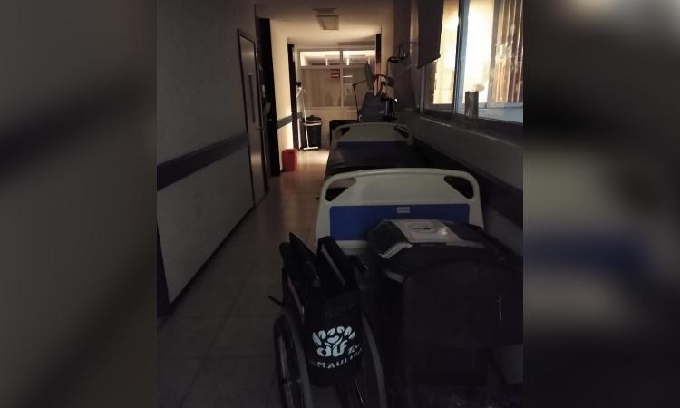Tamaulipas: tras conato de incendio, Hospital General funciona a medias