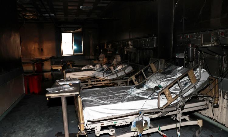Incendio en área COVID de hospital deja 9 muertos en Turquía