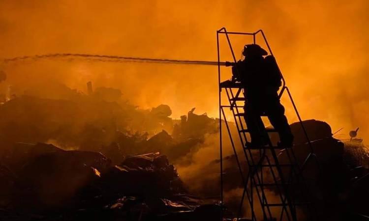 Incendio en Nuevo León