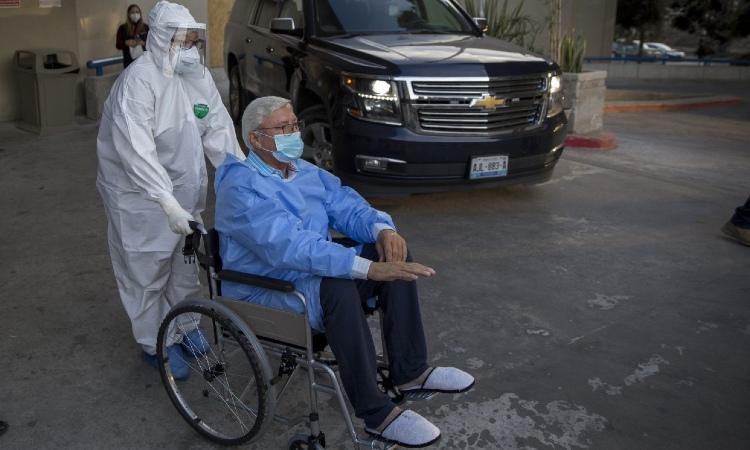 Jaime Bonilla es dado de alta; así afectó COVID-19 sus pulmones