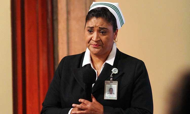 Jefa Fabiana, titular de la División de Programas de Enfermería del IMSS.