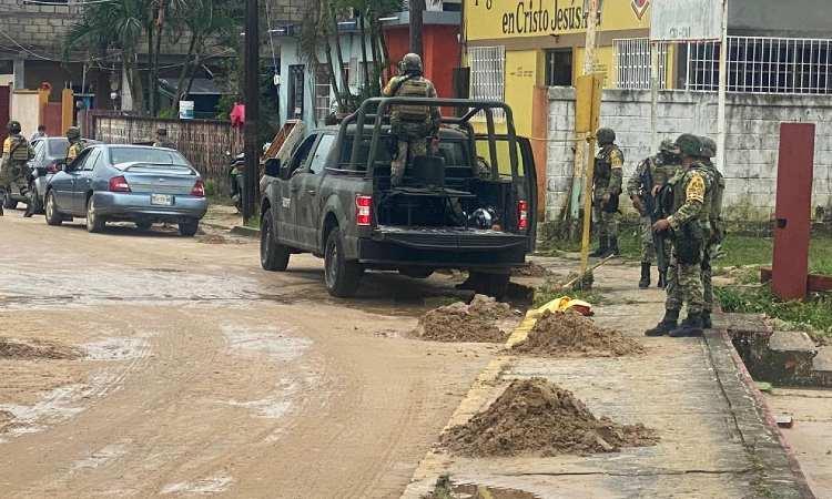 Lluvia intensa en Veracruz dejan 5 mil afectados en Agua Dulce