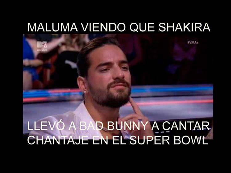 Meme Maluma Superbowl