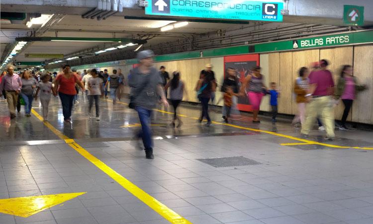 Metro CDMX: Cierran entradas de estación Bellas Artes
