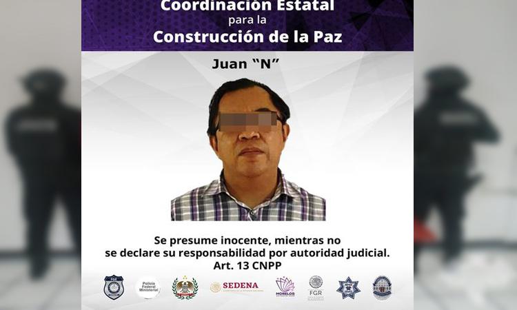 En Morelos detienen a médico por abuso sexual