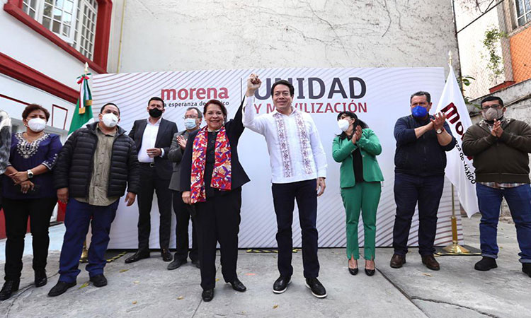 Morena elige a Celia Maya como su candidata a gubernatura de Querétaro