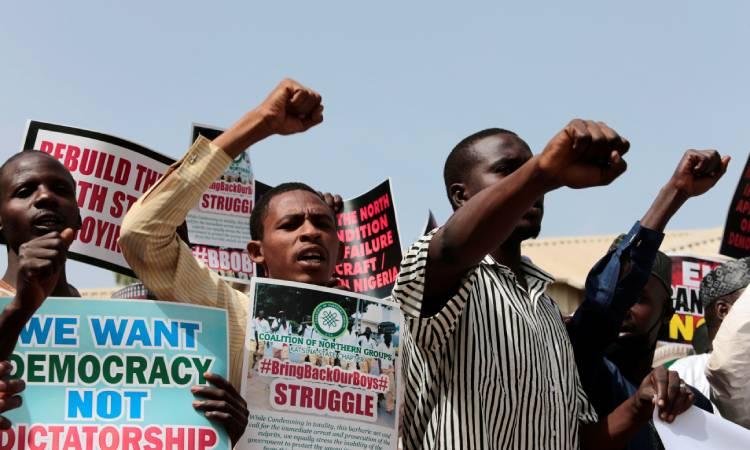 Nigeria niños secuestrados
