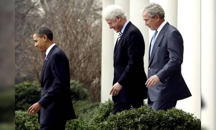 Obama Bush Clinton vacuna COVID-19