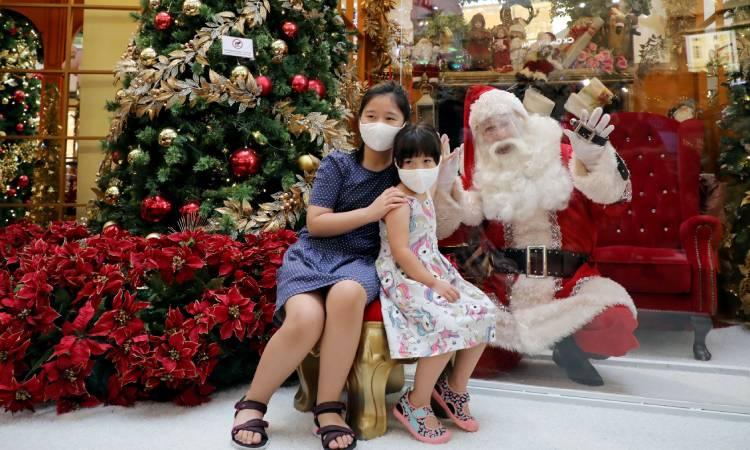 Santa Claus COVID-19 OMS