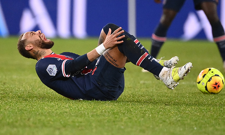 Neymar Lesionado Regreso