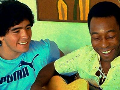 Pelé y Maradona son considerados dos de los mejores futbolistas de la historia