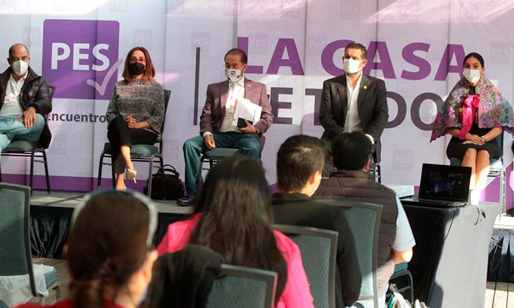Partido Encuentro Solidario abre convocatoria ciudadana para diputaciones federales