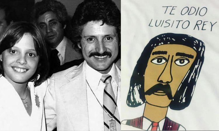 """Te odio Luisito Rey"", la historia detrás de la famosa playera"